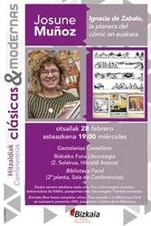 Hitzaldia: Ignacia de Zabalo, la pionera del cómic en euskara
