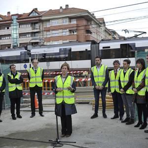 Eusko Jaurlaritzak 11,4 milioi euro inbertitu ditu, Txorierriko geltokiak berriztatzeko