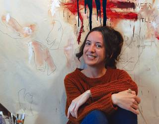 Ianire Sagasti Ruiz, artista plastikoa eta poeta