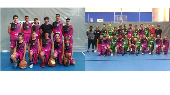 Txorierri Basket Sondikako Errendimenduzko Infantilak Donostian Easo Cup 2017-an