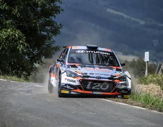 Ivan Aresek eta David Vazquezek irabazi dute Zamudioko Rallya