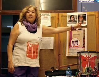 """Silvia Palumbo: """"Gizateriaren erdiak pairatzen dituen miseriak ikusgai egitea dugu helburu"""""""