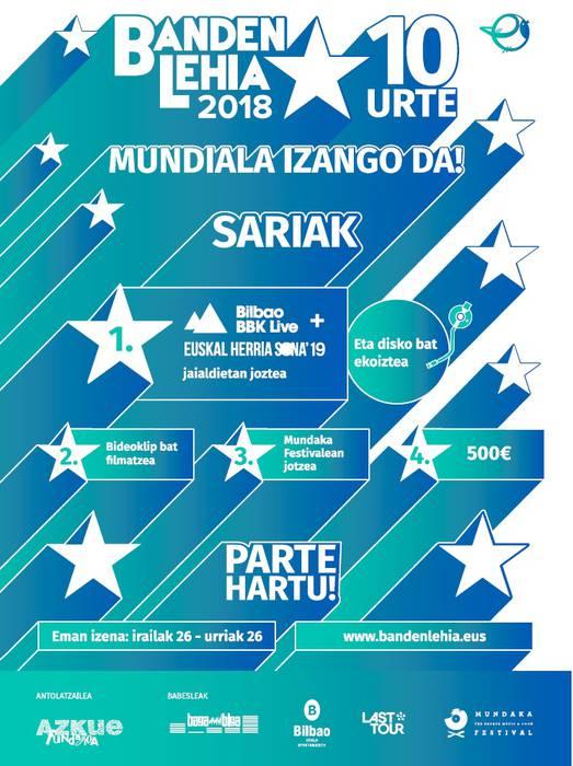 Belatz, Dekot, Zizel eta Nau taldeak, Banden Lehiako finalistak