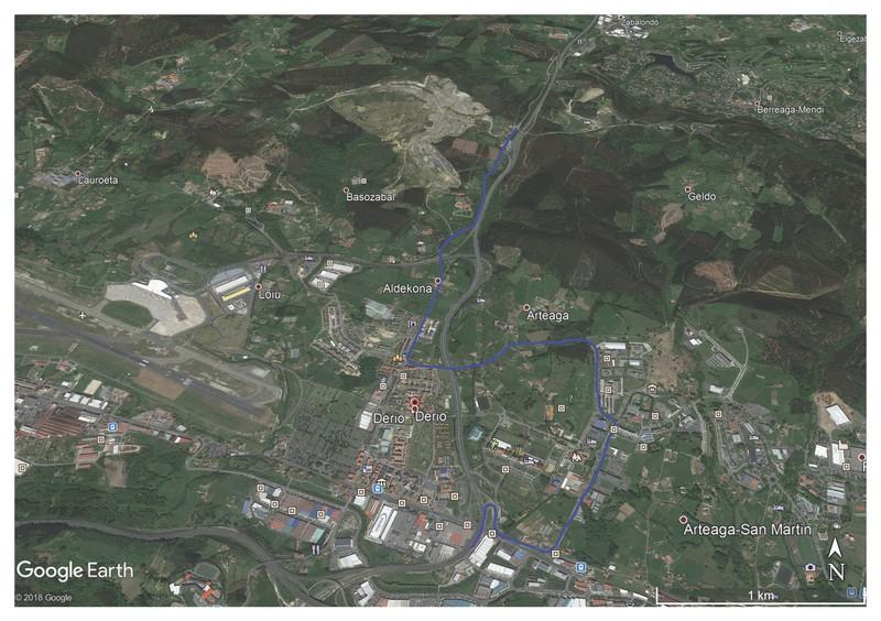 Zamudio eta Derioko errepide batzuk trafikorako itxiko dira eguaztenean, itzuliaren 17. etapa dela-eta