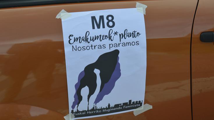 Txorierriko karabana feministak Txorierri osoa zeharkatu du