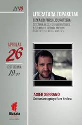Literatura topaketak: Asier Serrano