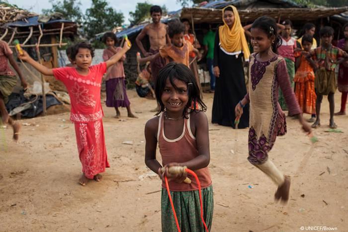 Rohingya etniako umeen aldeko ekimen solidarioa, Erandiogoikoan