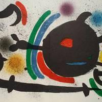 Erakusketa - Joan Miroren litografiak