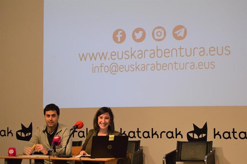 EuskarAbentura gazteen espedizioak Euskal Herria zeharkatuko du uztailean