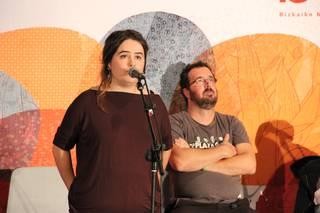 Malen Amenabarrek irabazi du Santurtziko kanporaketa
