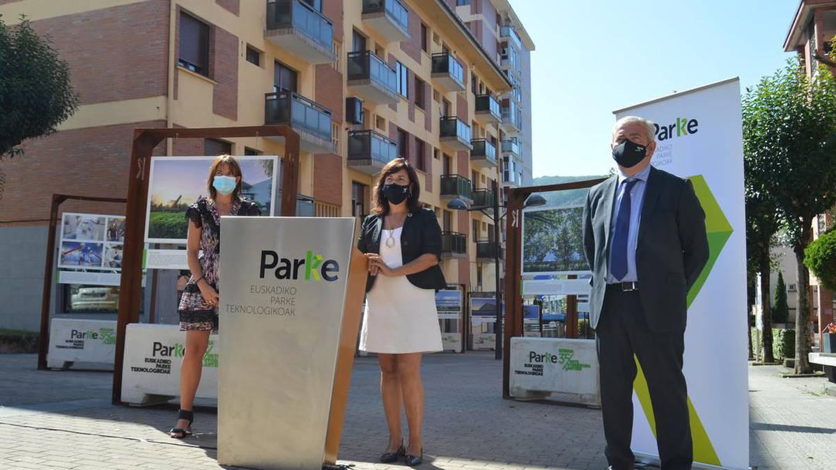 Zientzia eta Teknologia Parkearen gaineko erakusketa inauguratu da gaur Derion