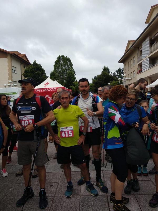 Giro ederra, Bizkaia Kopa Trail txapelketaren Loiuko saioan - 1