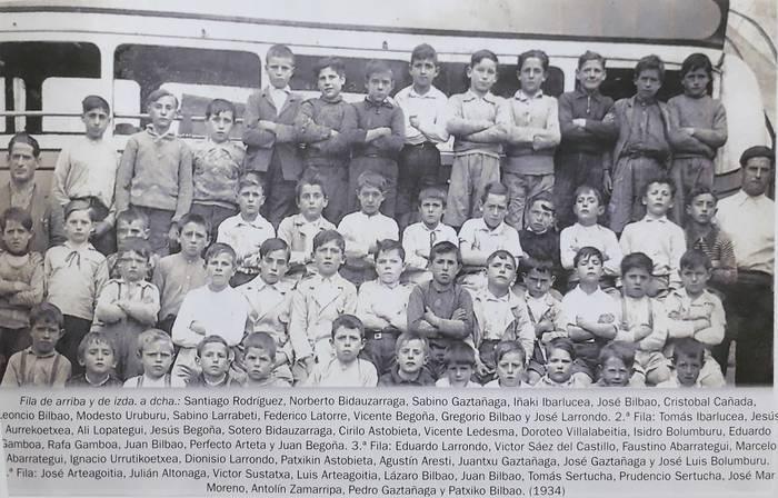 Loiuko eskola 30eko hamarkadan