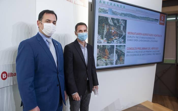 Merkatuari galdetzea, Artxanda Aktibatzeko Planaren barruan lehenengo emakiden lizitazioa planifikatzeko